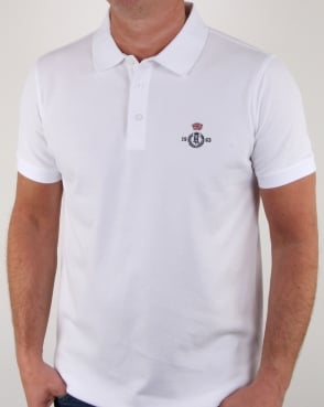 Henri Lloyd Benton Branded Polo Shirt White