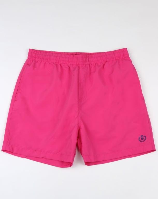 Henri Lloyd Brixham Swim Shorts Dark Pink