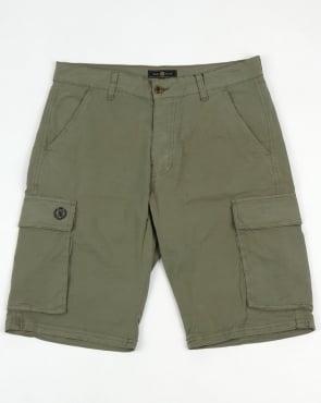 Henri Lloyd Cargo Combat Shorts Khaki Green
