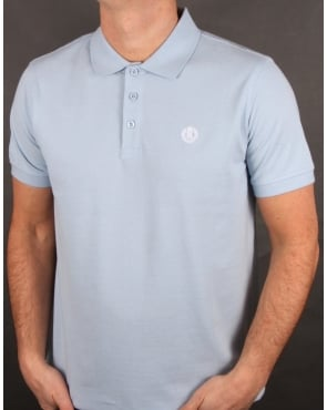 Henri Lloyd Cowes Polo Shirt Sky Blue
