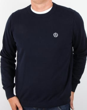 Henri Lloyd Crew Neck Knit Navy