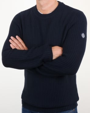 Henri Lloyd Felsted Crew Neck Knit Navy