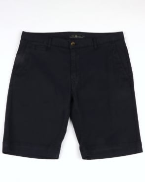 Henri Lloyd Garn Plain Washed Shorts Navy