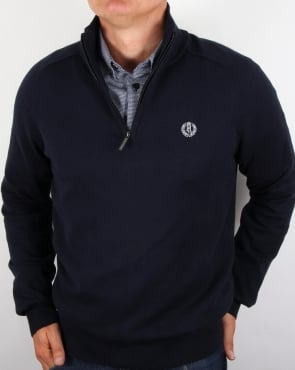 Henri Lloyd Half Zip Knit Navy