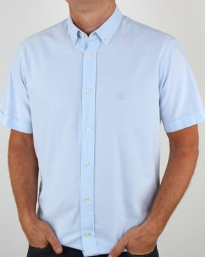 Henri Lloyd Henri Club Short Sleeve Shirt Sky Blue
