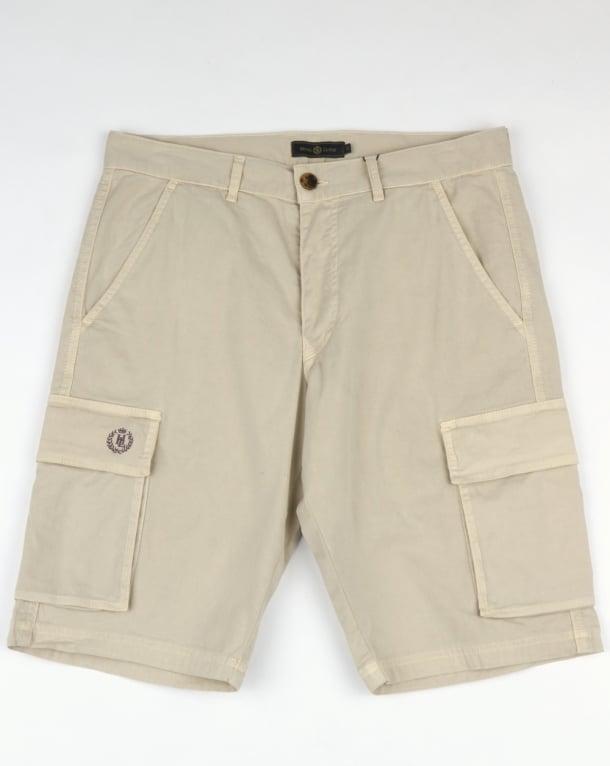Henri Lloyd Machen Combat Cargo Shorts Oyster Grey
