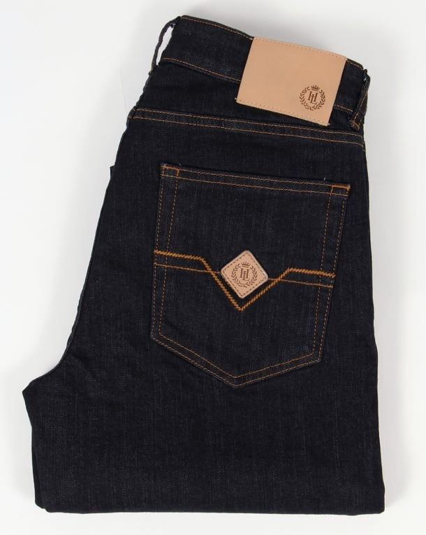 Henri Lloyd Manston Regular Fit Jeans Rinse Wash