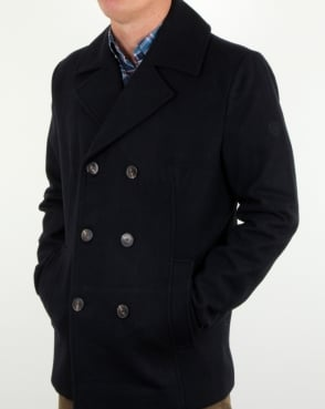 Henri Lloyd Melton Pea Coat Navy