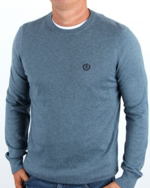 Henri Lloyd Morgan Crew Neck Knit Blue