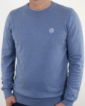 Henri Lloyd Morgan Crew Neck Knit Frost