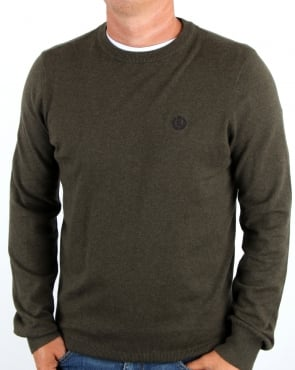 Henri Lloyd Morgan Crew Neck Knit Litchen