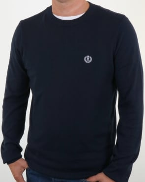 Henri Lloyd Morgan Crew Neck Knit Navy