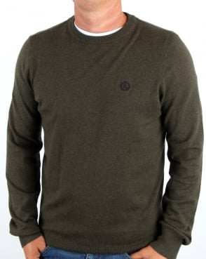 Henri Lloyd Morgan Crew Neck Sage Green