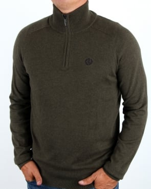 Henri Lloyd Morgan Half Zip Knit Litchen