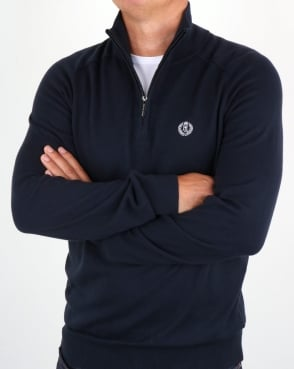 Henri Lloyd Morgan Half Zip Knit Navy