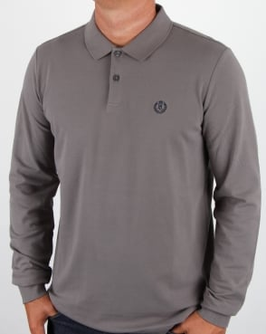 Henri Lloyd Musburry Ls Polo Shirt Flint Grey