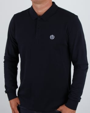 Henri Lloyd Musburry Ls Polo Shirt Navy