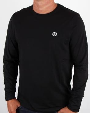 Henri Lloyd Radar Long Sleeve T Shirt Black