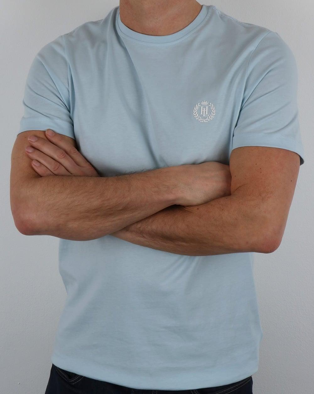 Henri Lloyd Radar T Shirt Pastel Blue,tee,logo,mens,sale
