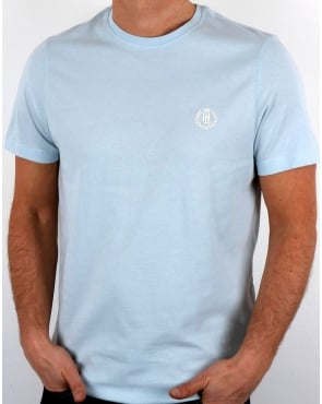 Henri Lloyd Radar T Shirt Pastel Blue