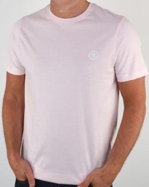Henri Lloyd Radar T Shirt Pastel Pink