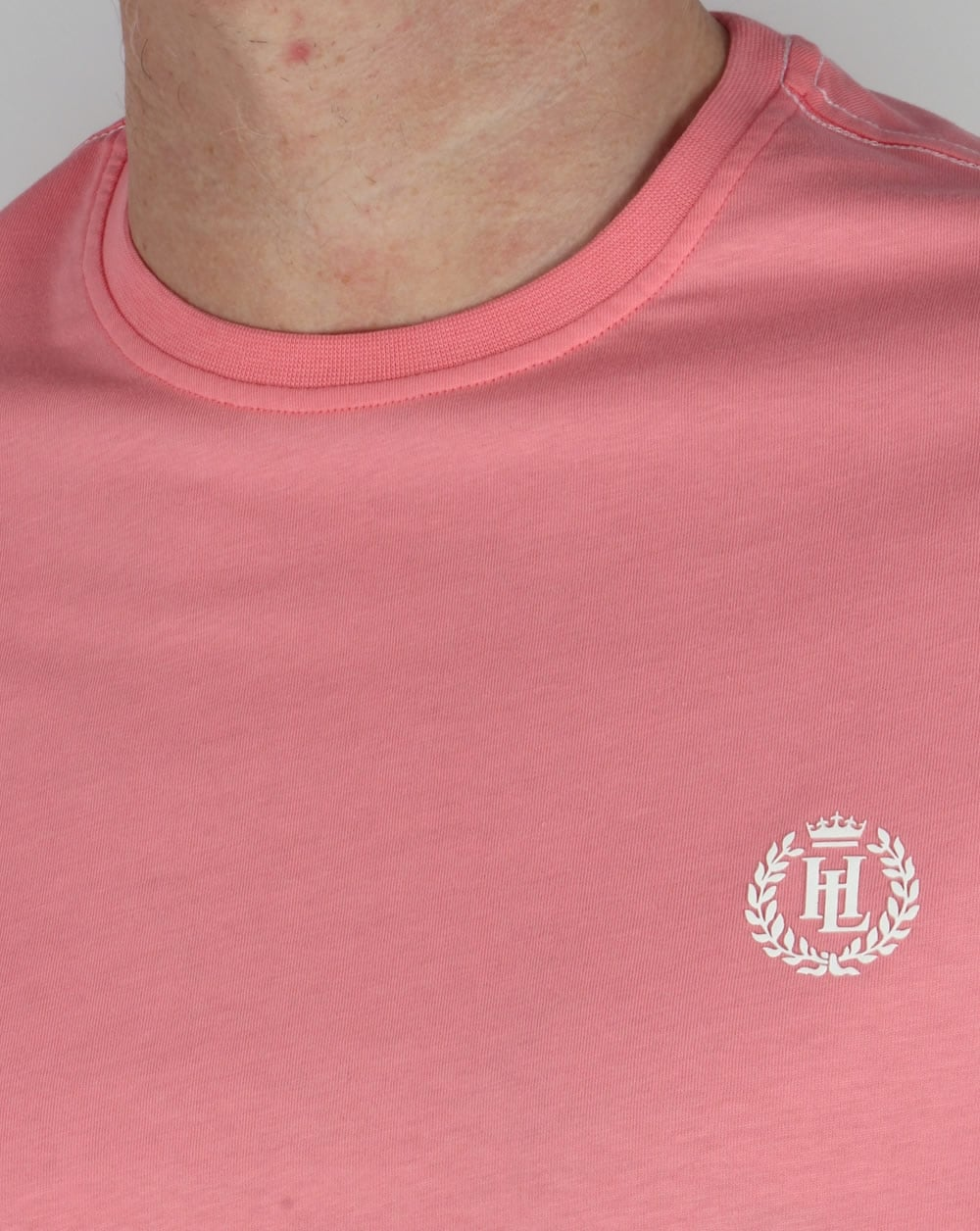 Henri Lloyd Radar T Shirt Salmon Pink,tee,logo,mens,sale