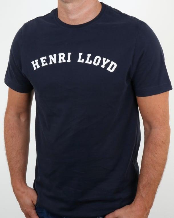 Henri Lloyd Ragian T Shirt Navy
