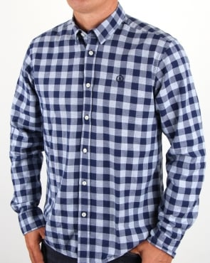Henri Lloyd Ramore Check Shirt Navy White