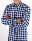 Henri Lloyd Ramore Check Shirt Navy White
