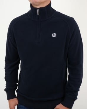 Henri Lloyd Rednor Half Zip Sweat Navy