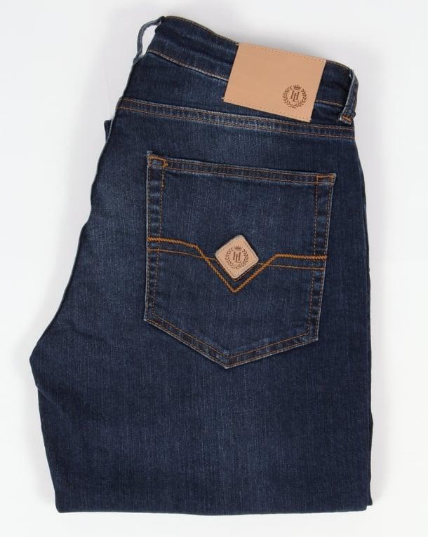 Henri Lloyd Regular Fit Jeans Vintage Dark Wash