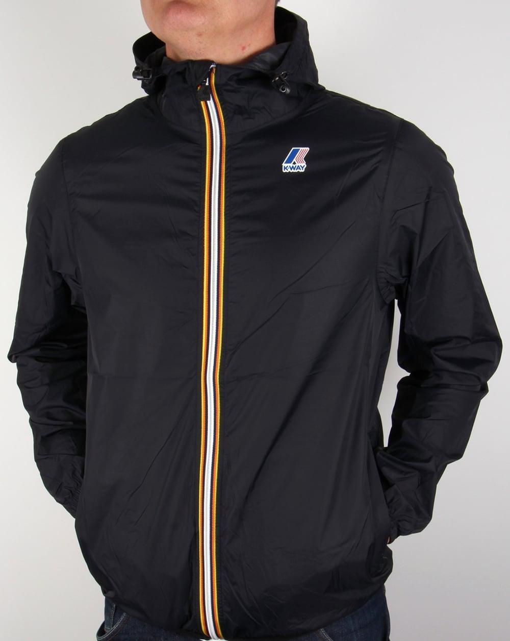 Bien connu K-way Claude 3.0 Rainproof Jacket Black,windbreaker,coat,pac a mac  KG33