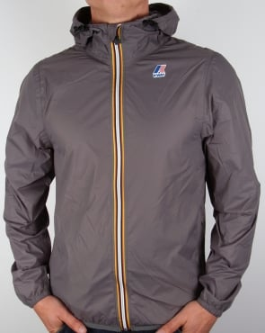 K-way Claude 3.0 Rainproof Jacket Mid Grey