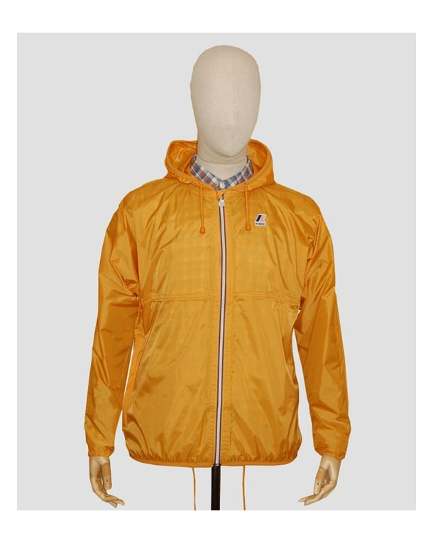 K-way Claude Classic Rainpoof Jacket Amber