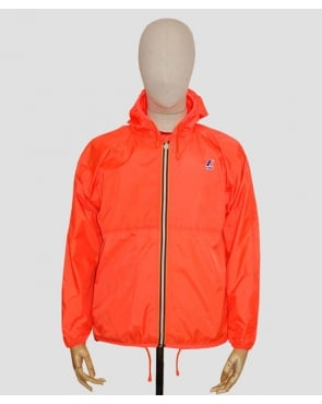 K-way Claude Classic Rainpoof Jacket Fluorescent Orange