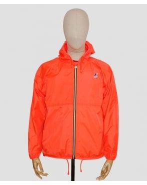 K-way Claude Classic Rainpoof Jacket Fluorescent Orange