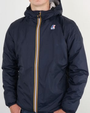 K-way Claude Fleece Lined Jacket Navy