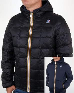 K-way Jacques Thermo Plus Reversible Jacket Navy