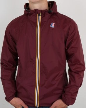 K-way Le Vrai 3.0 Claude Jacket Burgundy