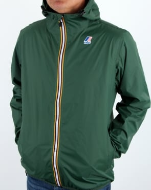 K-way Le Vrai 3.0 Claude Jacket Dark Green