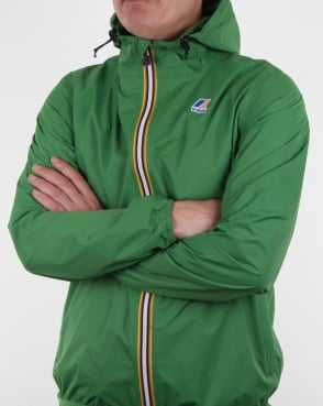 K-way Le Vrai 3.0 Claude Jacket Mid Green
