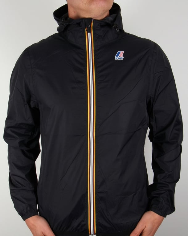K-way Le Vrai 3.0 Claude Rainproof Jacket Black
