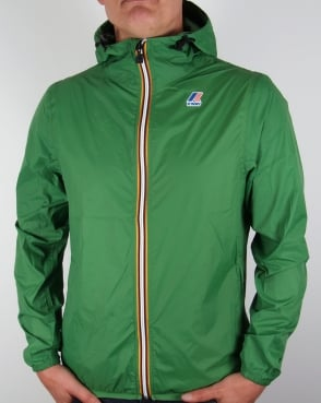 K-way Le Vrai 3.0 Claude Rainproof Jacket Green