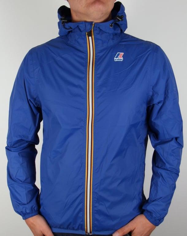 K-way Le Vrai 3.0 Claude Rainproof Jacket Royal Blue