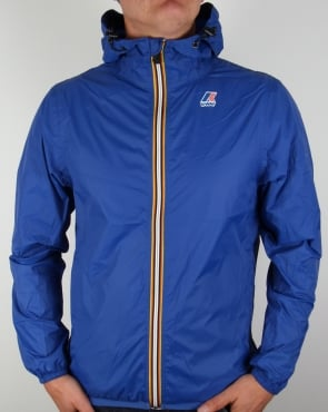 K-way Le Vrai 3.0 Claude Rainproof Jacket Royal Blue