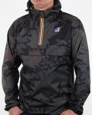 K-way Le Vrai 3.0 Leon Graphic Jacket Dark Camo