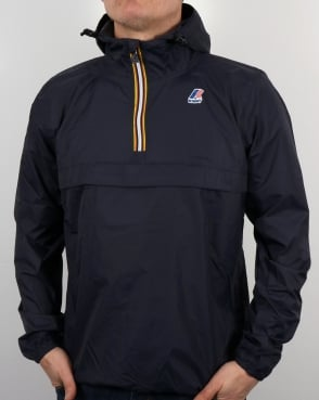 K-Way Le Vrai 3.0 Leon Jacket Navy
