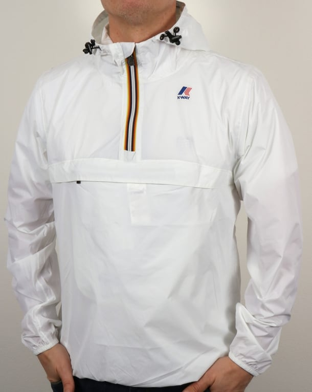 K-Way Le Vrai 3.0 Leon Jacket White