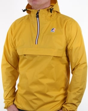 K-way Le Vrai 3.0 Leon Jacket Yellow Mustard