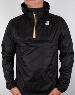 K-way Le Vrai 3.0 Leon Rainproof Jacket Black